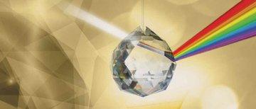 Regenbogen-Kristall-Asfour